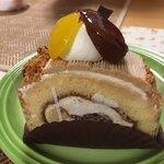 パティスリー シロ・デラブル - マロンのロールケーキ