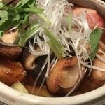 鴨屋 そば香 - トップフォト 鴨肉と椎茸のお蕎麦