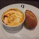 79834453 - 渡り蟹と海老のビスクwith ポアールのパン♪