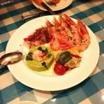 マッコ - 魚介の前菜4種盛り合わせ