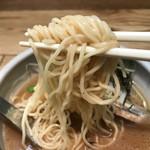 ユウジ ラーメン - ほそーい麺