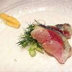 DINING ROOM IN THE MAIKO - 坊勢のサバ☆*:.。. o(≧▽≦)o .。.:*☆ こんなん初めて❤︎❤︎