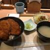 新潟カツ丼 タレカツ - 料理写真:カツ丼セット750円(税別)