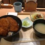 79838567 - カツ丼セット750円(税別)