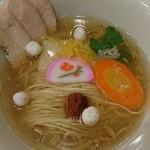中華そばムタヒロ - 煮干しと干しエビのお雑煮塩そば~♪