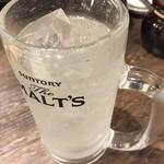 節骨麺たいぞう - レモンサワー(^∇^)