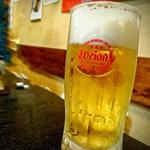 79842596 - オリオン生ビール(ジョッキ) [¥550]