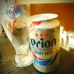 79842597 - オリオン生ビール(缶) [¥500]