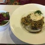 チャイカ - スメタナとディル風味のオリジナルカレー
