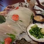 四ツ谷 魚一商店 - 〇活きイカの活き作り 2,780円(税込)