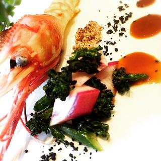名古屋の柳橋市場や豊洲から仕入れる鮮魚