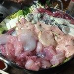 79845254 - アンコウ・アンキモ・カキ・ねぎま鍋