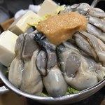 79845353 - 牡蠣みそ鍋①