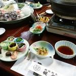 健寿司 - 鯛の細造り、前菜