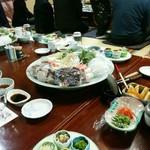 健寿司 - くえ鍋