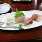 健寿司 - 刺し身盛り合わせ