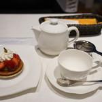 グラン カフェ - ケーキセットA@1,400
