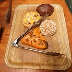 79847543 - 買った4種類のパン