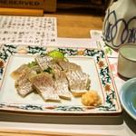 英ちゃん冨久鮓 - 小鯛しそ酢
