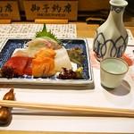 英ちゃん冨久鮓 - 料理写真:お造り盛り合わせ