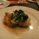 ビストロ オランジュ - 脳味噌と胸腺のフライ食べ比べ