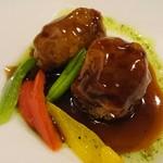 中国料理 白楽天 - 山芋と餅を包んだ京都ポークの酢豚♪