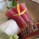 京料理・割烹 洛々 - 造り3種♪