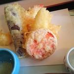 京料理・割烹 洛々 - 天ぷら盛合せ♪