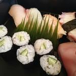 京料理・割烹 洛々 - 寿司盛合せ♪