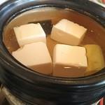 京料理・割烹 洛々 - 湯豆腐♪