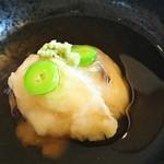 京料理・割烹 洛々 - 季節の逸品  甘鯛の蕪蒸し♪