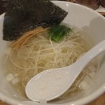 Hakatatorishioraamemmiyabiya - 塩ラーメン