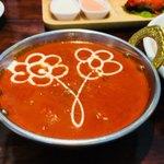 インドレストラン ナンハウス - 選べるカレーはチキンバターマサラで