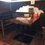 インドレストラン ナンハウス - 内観4(座席)