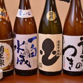 鰻料理に合わせて愉しめるお酒を各種ご用意しております