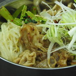 豚バラ焼肉丼(黒)