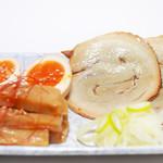 麺 TOKITA - おつまみ3点盛