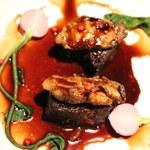 79855476 - 「牛ほほ肉の煮込み 牡蠣とのマリアージュ(1,200円)」
