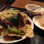 銀莱 - ・ホイコーロー定食