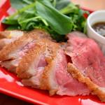 シュリンプシュリンプ - 鴨肉のロースト
