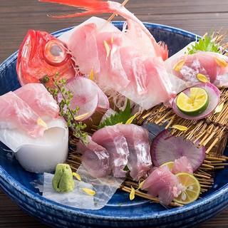 【鮮魚のざるみせ】お好みのお魚をお好みの調理方法で