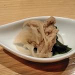 酉桂 - [料理] この日のお通し アップ♪w