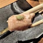 酉桂 - [料理]  サビ焼き (ささ身) アップ♪w