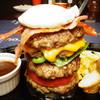 テキサス - 料理写真:ディナー限定!ハンバーグトランプタワー