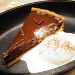 テキサス - チョコタルト&バニラアイス