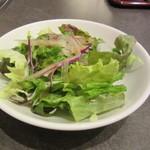徳壽  - ランチのセット物のサラダ