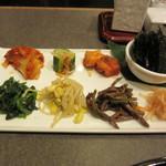 徳壽  - 8種の副菜