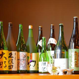 こだわりの日本酒を多数ご用意!飲み比べもございます★