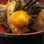 79859704 - 卵黄の天ぷら、どうやって揚げてんのかな〜