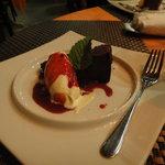 ビストロ オランジュ - チョコレートケーキ